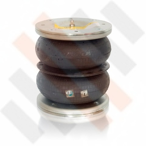 Dunlop Double Convluted Air Spring | Airsuspension | 170/2 | OP.LB.170-2.CPL
