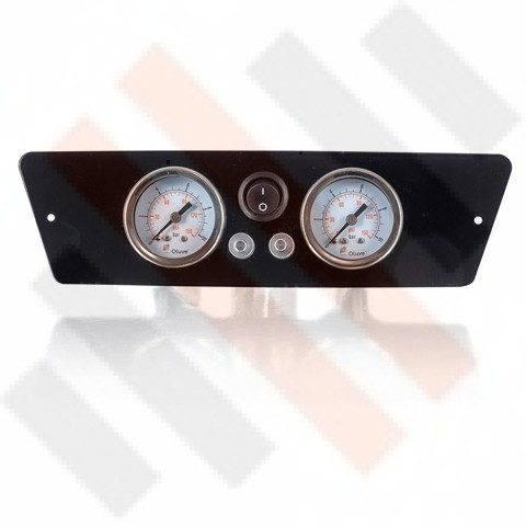 Renault Master X62 Gauge Dashpanel 2-way Black | Airsuspension