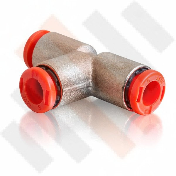 T-shape Air Connector 8mm Air Line  | Semi-airsuspension