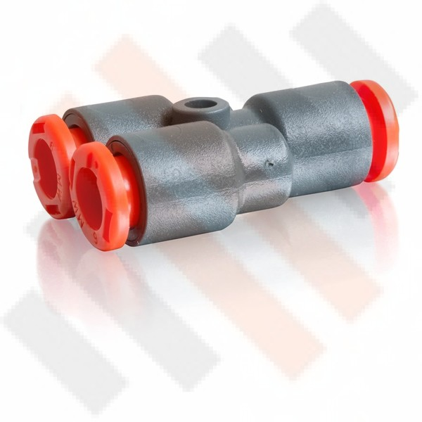 Y-shape Push-in Air Fitting 6mm to 4mm  | Semi-airsuspension