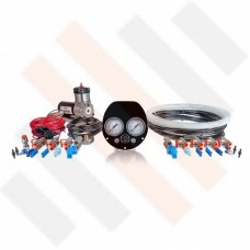 Ford Transit Air Suspension Kit 2-way with Compressor Kit Thomas 215