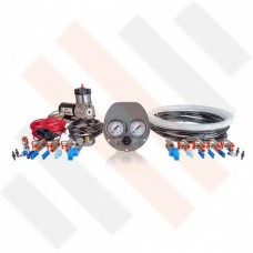 Ford Transit Air Suspension Kit 2-way Grey with Compressor Kit Thomas 215