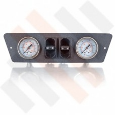 Renault Master X62 2-way Gauge Dashpanel Ø 40 mm matte grey | Airsuspension